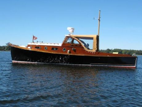 1950 William Frost Downeast Style Lobster Yacht