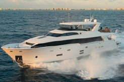 2015 Hatteras 100 Raised Pilothouse