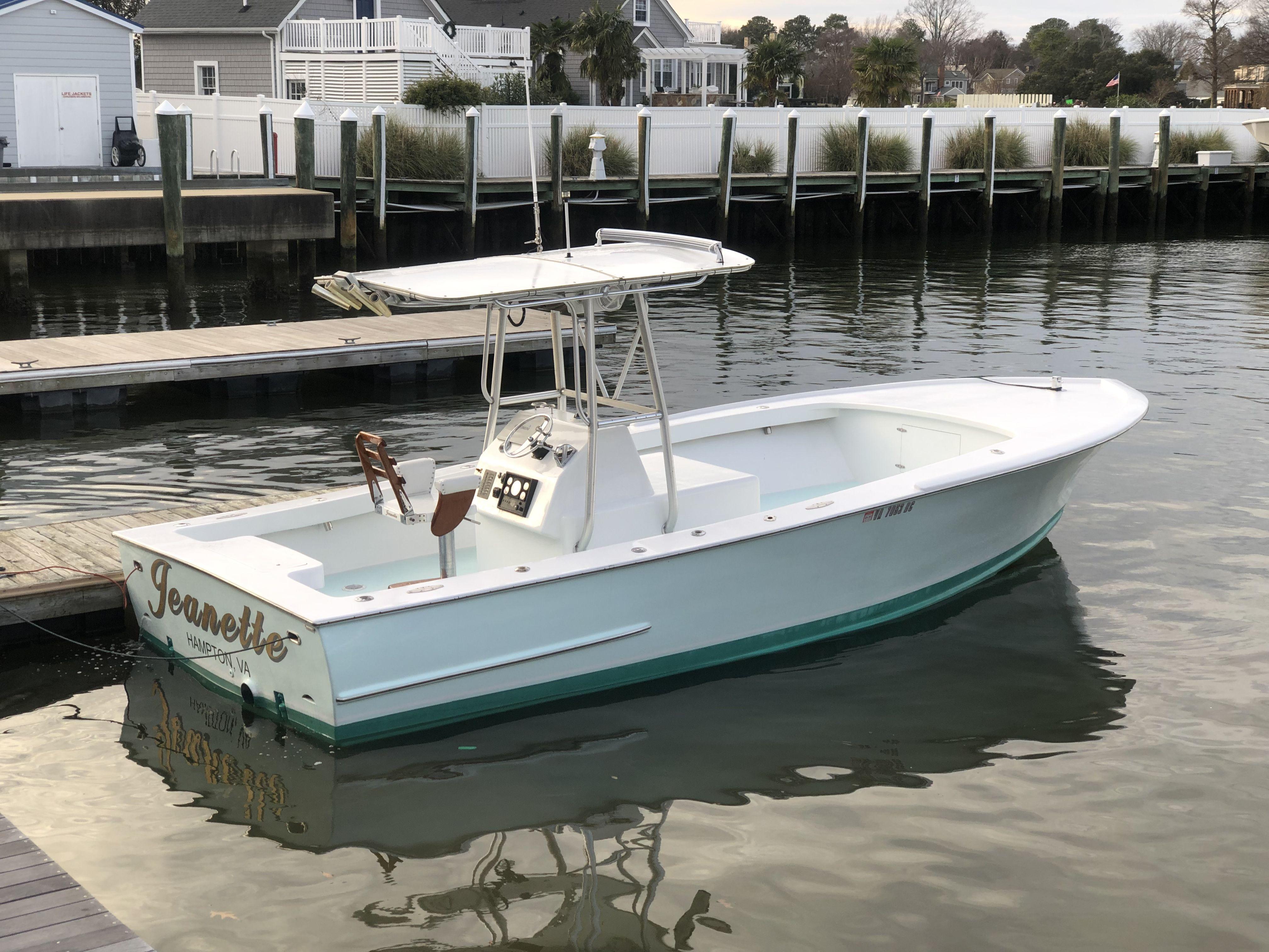 2000 Gillikin Custom Carolina 27 Center Console Power Boat ...