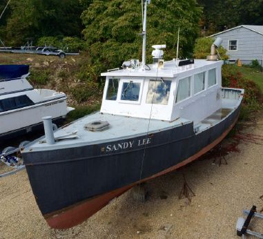 1972 Custom Tug Conversion