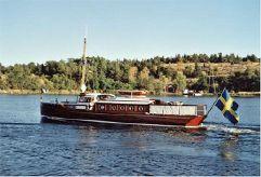 1918 Custom Gustafsson & Andersson Klassische Motoryacht MATCH II