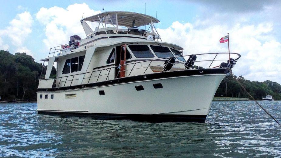 1988 DeFever 53 POC Motor Yacht Power Boat For Sale - www yachtworld com