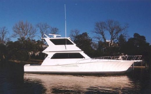 1997 Viking 58 Enclosed Bridge