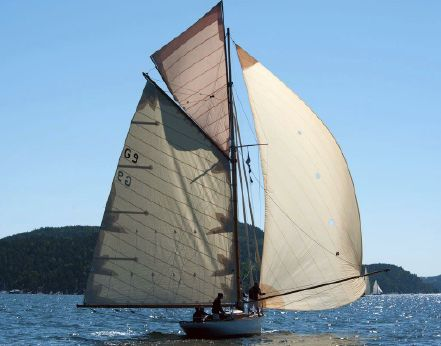1907 Johan Anker The worlds first 9mR yacht according to the first R-rule of 1906/07