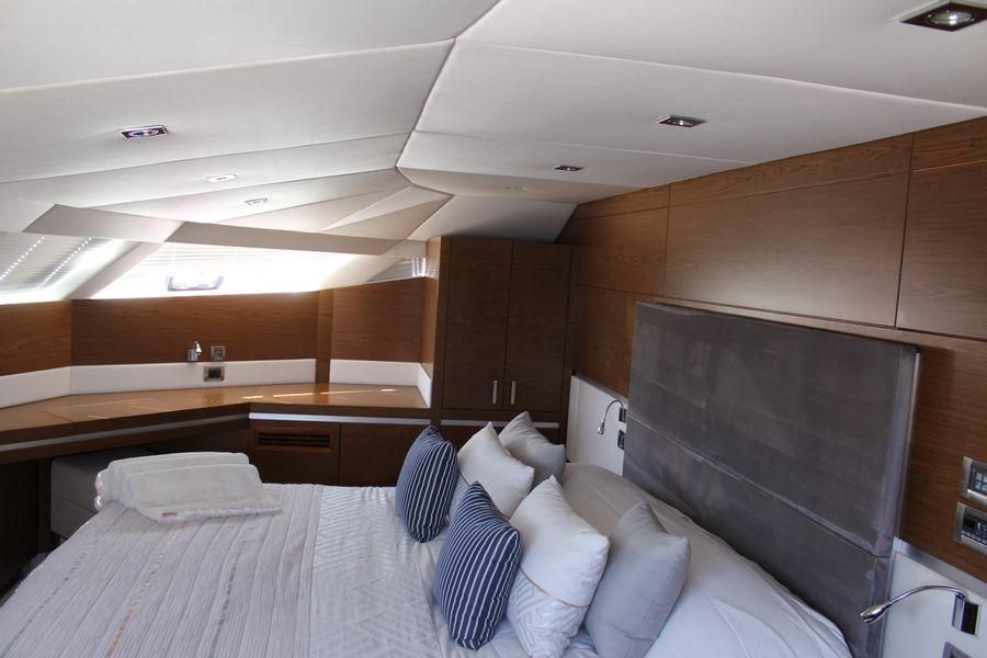 Sunreef 70 Power Catamaran Master Bed