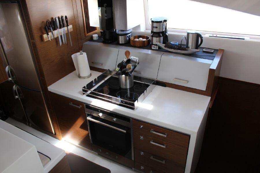 Sunreef Power 70 Catamaran Galley Kitchen