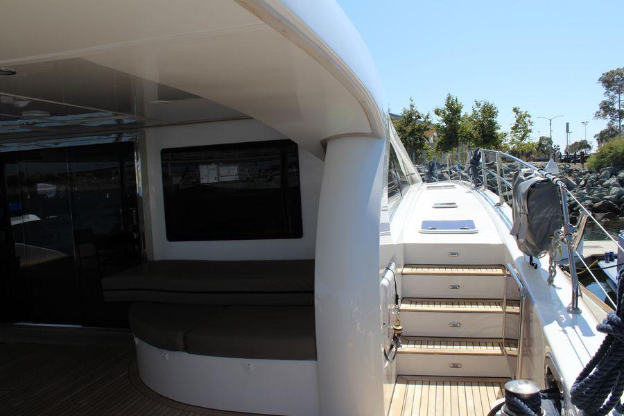 Sunreef Power 70 Catamaran Starboard Walkway