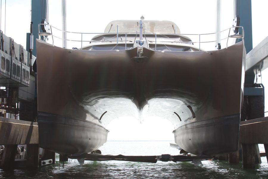 Sunreef 70 Power Catamaran Hauled out