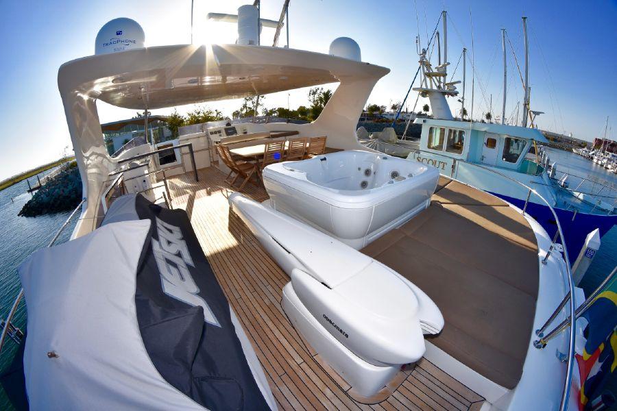 Sunreef Power 70 Catamaran Flybridge Jacuzzi