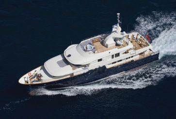 2006 Custom Line Mega Yacht
