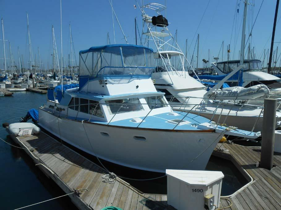 40 ft 1967 pacemaker coho