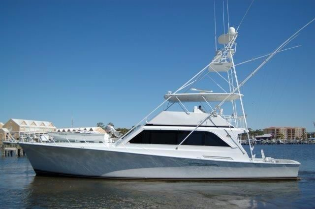 1988 ocean yachts 63 sport fish power boat for sale www for Sport fishing boats for sale by owner