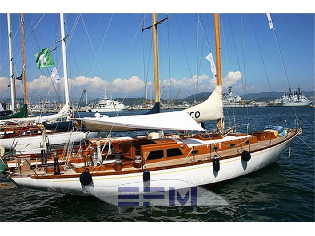 1963 Sangermani Cutter Vela Barca In Vendita Www