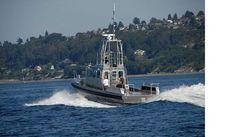 2010 Northwind Aluminum Patrol Police Boat
