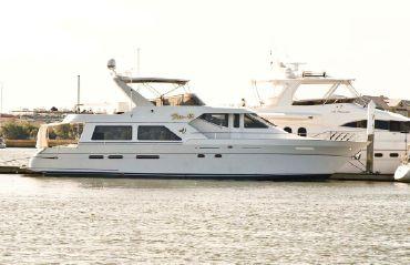 1996 Queenship 62 Flagship