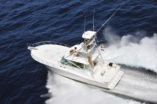 2002 Cabo Yachts 45 Express
