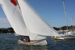 2013 Heard Tosher 20 traditional gaff cutter