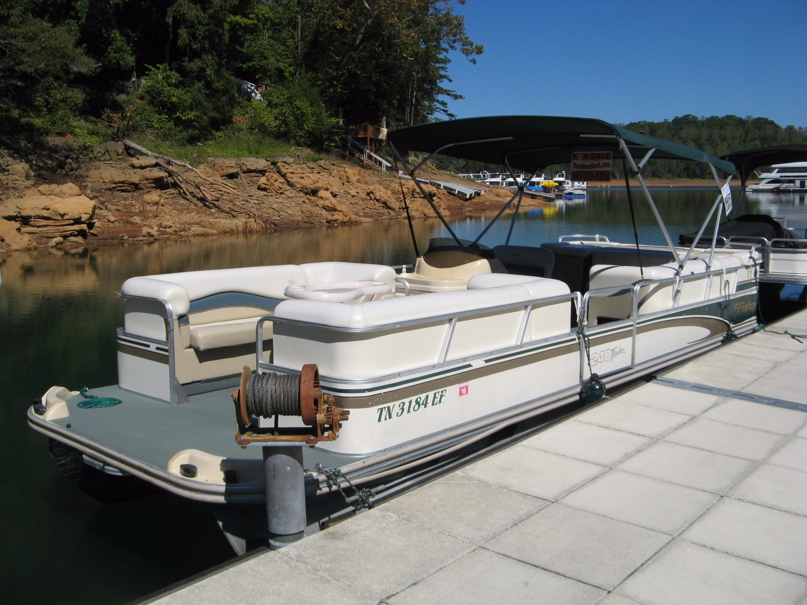 2000 fisher freedom 240 dlx power boat for sale www for Norris craft boats for sale