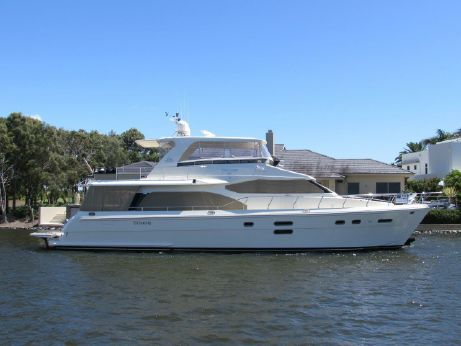 2012 Hampton 68 Pilothouse