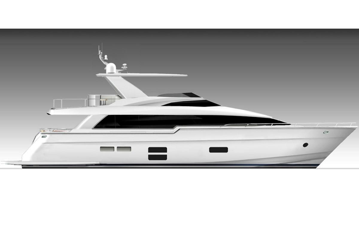 2018 hatteras 70 motor yacht power boat for sale www for Hatteras 70 motor yacht