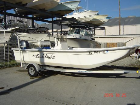 2011 Clearwater 210 DL Skiff