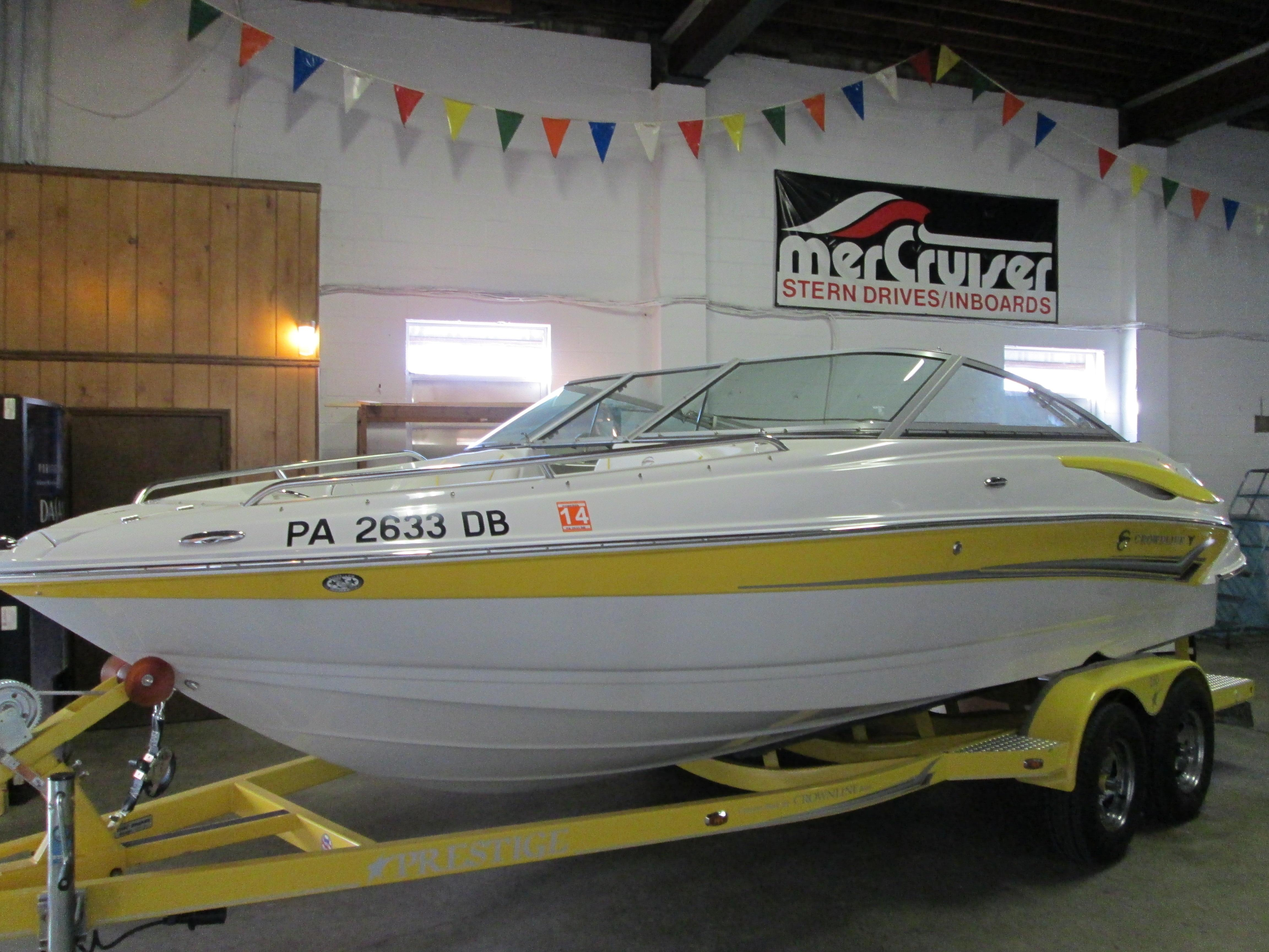 21 ft 2008 crownline 21 ss