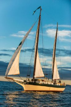 1983 Two Masted Bug Eye Schooner Auxillary Sail
