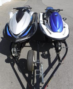 2009 Kawasaki Ultra 260X & STX-15F Jet Skis