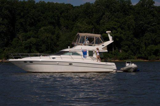 2001 Sea Ray 400 Sedan Bridge