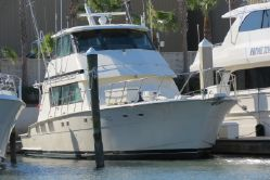 photo of  65' Hatteras Convertible Enclosed Bridge
