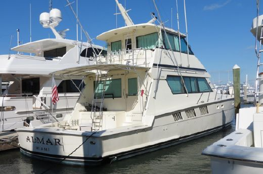 1988 Hatteras Convertible Encl.Bridge