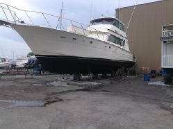 photo of  Hatteras Convertible Enclosed Bridge