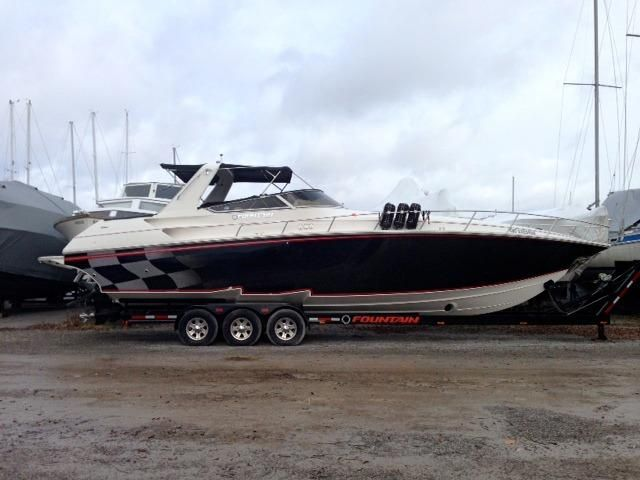2008 Fountain 38 Express Cruiser Power Boat For Sale Www