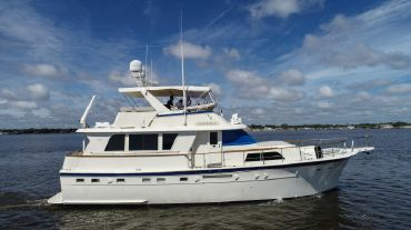 more · View Video · 53 ft 1984 Hatteras 53 Motor Yacht