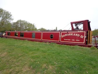 2001 Narrow Boat G&J Reeves Hull Trad Stern fit out Blue Haven