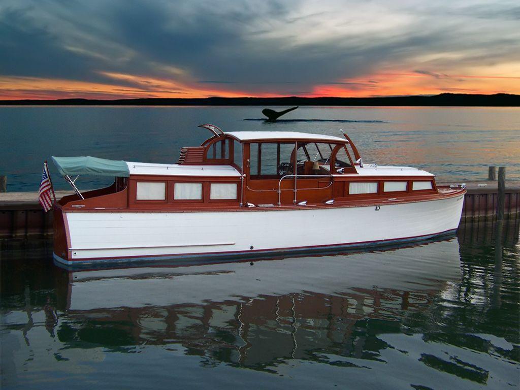 1933 Robinson Seagull Hacker Motor Yacht For Sale Yachtworld