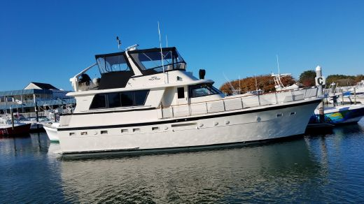 1984 Hatteras Extended Deck