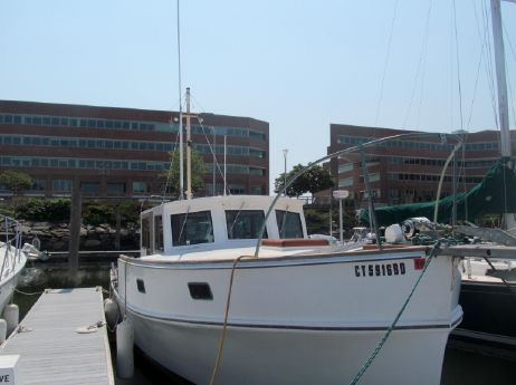 1969 Webbers Cove Raised Deck Down East Sedan Cruiser