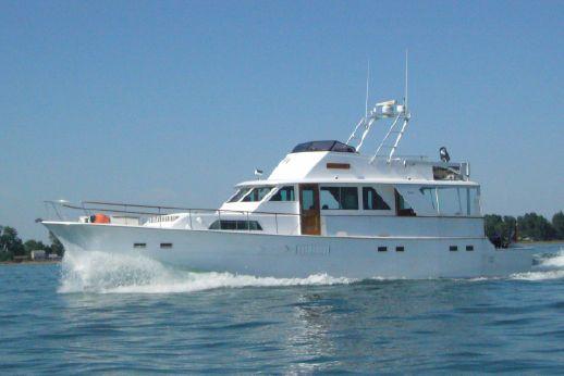 1973 Hatteras 58 Yacht Fisherman