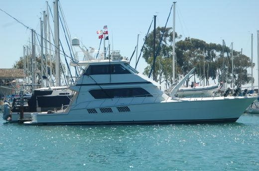 1998 Hatteras Sportfish Enclosed Bridge