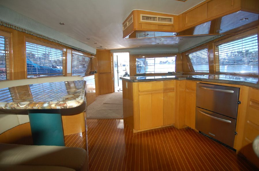 photo of Hatteras Sportfish Enclosed Bridge