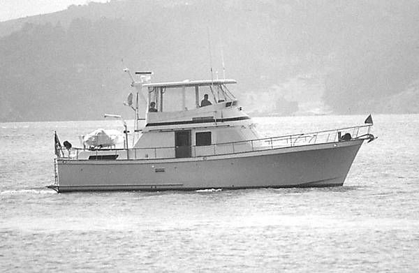 1983 monk custom double cabin trawler