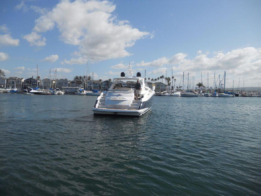 Sunseeker 53 Portofino Yacht Stern