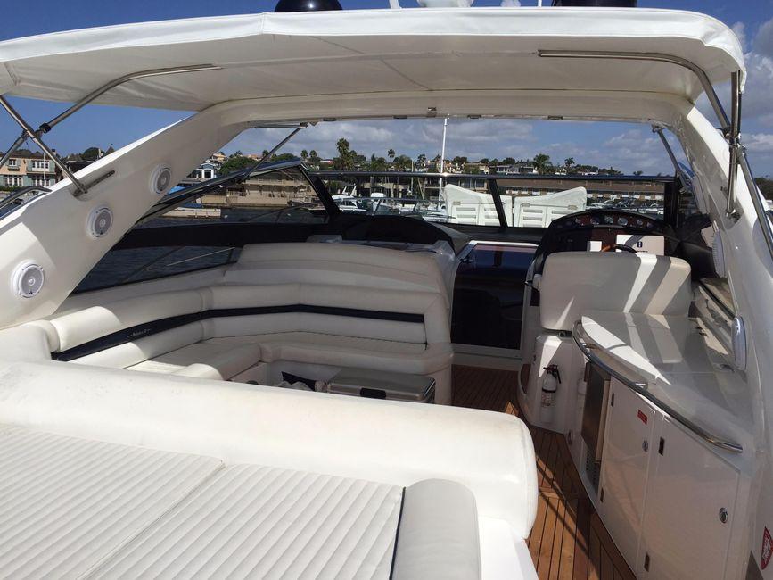 Sunseeker 53 Portofino Yacht Sunlounge Pad
