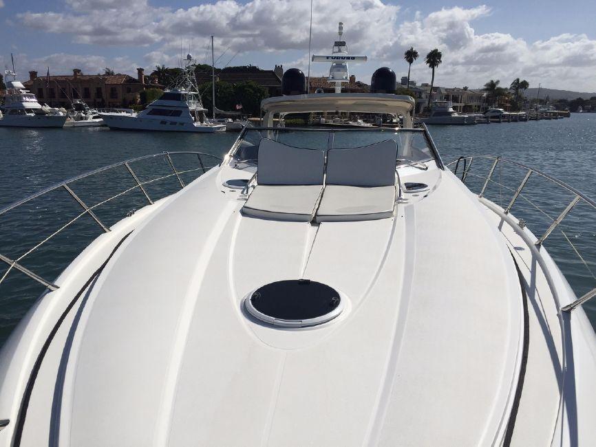 Sunseeker 53 Portofino Yacht Bow Sun Pad