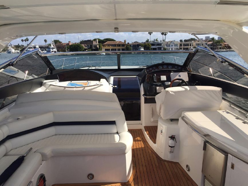 Sunseeker 53 Portofino Yacht Cockpit Layout