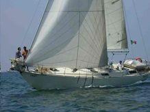 1984 Custom Canada Yacht Building Bruce Roberts 44 Sloop