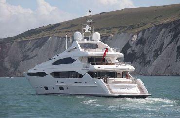 thumbnail photo 1: 2012 Sunseeker 40 Metre Yacht