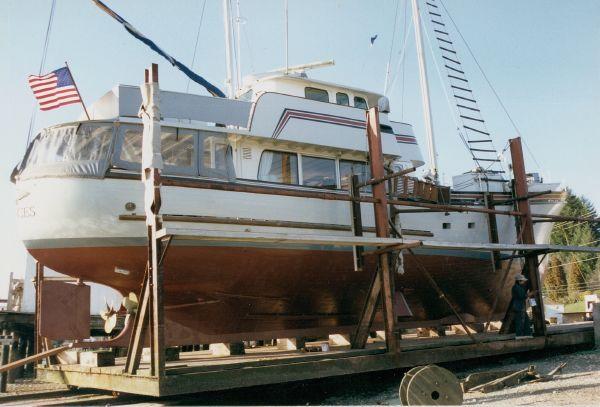 Imprimer ce bateau for Garden design trawler boat