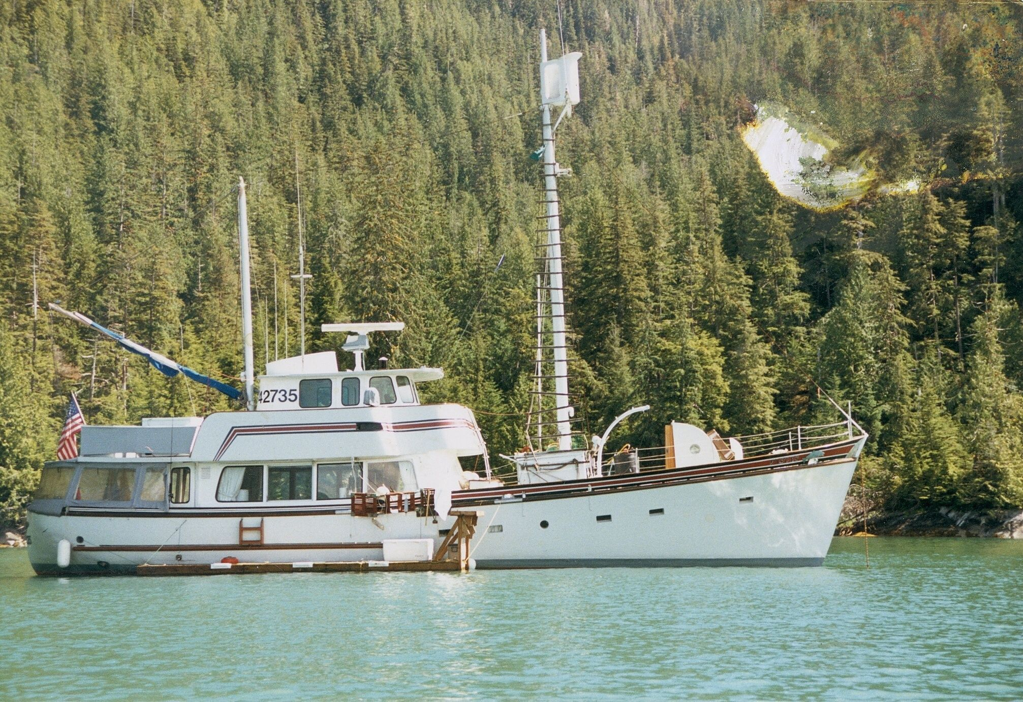 1958 vic franck garden design north sea trawler moteur for Garden design trawler boat